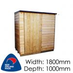 Pinehaven Ruahine Timber Garden Shed NZ Made