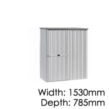 Garden Master Shed Flat - 785x1530mm
