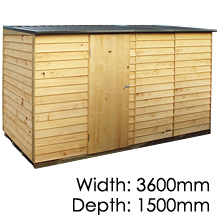 Pinehaven Lyall Timber NZ Made Garden Shed