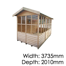 Pinehaven Sinclair Timber Garden Shed