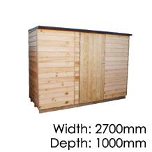 Pinehaven Rimutaka Timber Shed