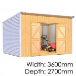 The Shed Smiths Classic Lean-To 3627