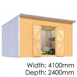The Shed Smiths Classic Lean-To 4124