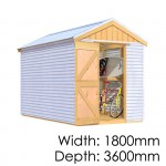 The Shed Smiths Classic Gable 1836