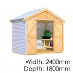 The Shed Smiths Classic Gable 2418