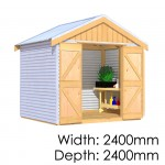 The Shed Smiths Classic Gable 2424