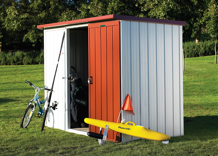 Buy A Duratuf KL2 Shed Online From Gubba Garden Sheds NZ