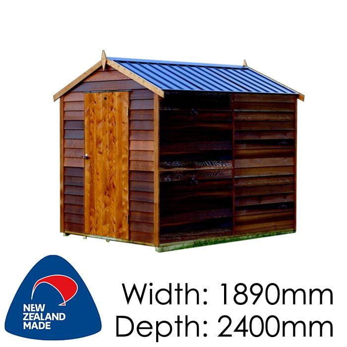 Garden Sheds NZ Cedar-Sherwood-700x700