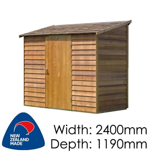 Garden Sheds NZ Cedar-Woodridge-500x500