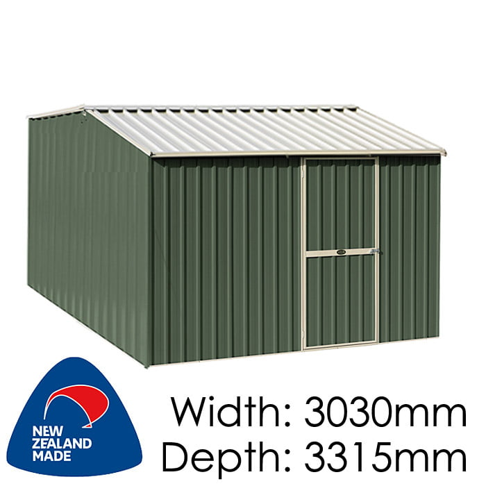 Garden Master GM3033 10m2 3030x3315 Garden Shed available at Gubba Garden Shed