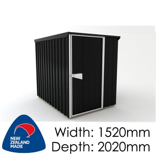 SmartStore Lean-to SM1520 1520x2020 Ebony Shed available at Gubba Garden Shed