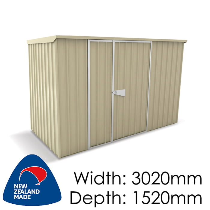 SmartStore Lean-to SM3015 3020x1520 Lichen Shed available at Gubba Garden Shed