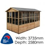 Pinehaven Highbury Timber NZ Made Garden Shed