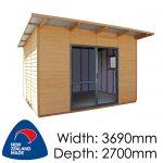Pinehaven 3690x2700 Wakatipu available at Gubba Garden Shed