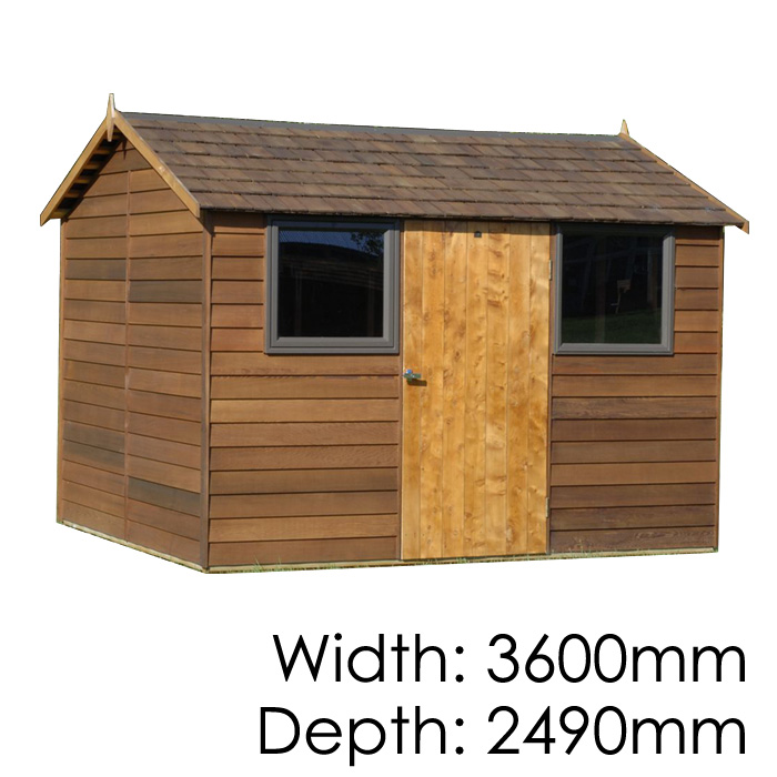 Garden Sheds 2m X 2m buy cedar bentley timber garden shed from gubba garden sheds
