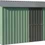 Garden Master GM3838 Coloured Steel Gable Roof Garden Shed
