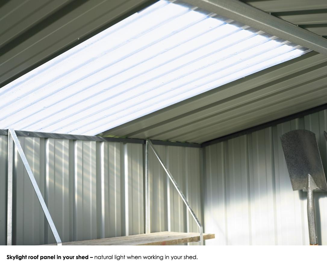 Garden Sheds NZ Garden-Master-Skylight-Roof