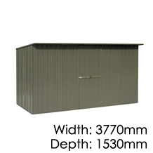 Garden Master Sloping Roof - 1530x3770mm