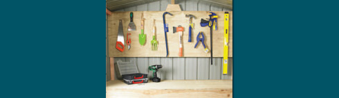Garden Sheds NZ doorinfo-toolboard