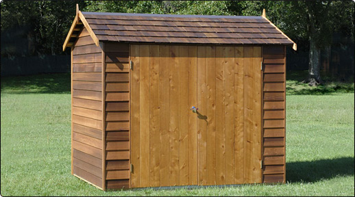 cedar astor timber garden shed - Garden Sheds Wooden