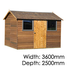 Cedar Bentley Timber Shed