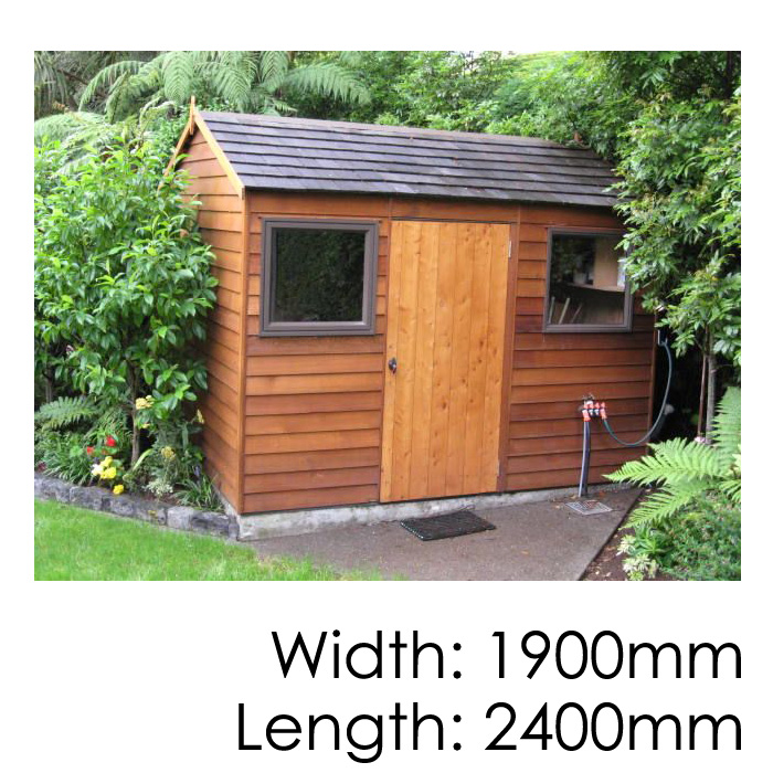 cedar sherwood timber shed cedar montrose timber shed - Garden Sheds Nz