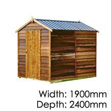 Cedar Sherwood Timber Shed
