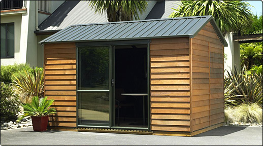 cedar urban timber garden shed - Garden Sheds Nz