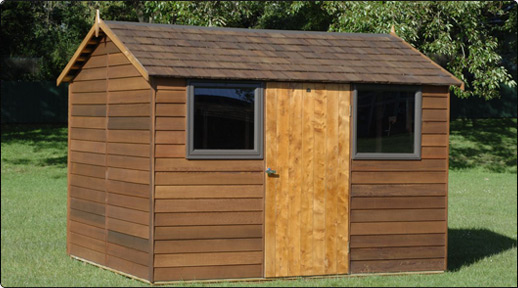 cedar bentley timber garden shed - Wooden Garden Sheds Nz