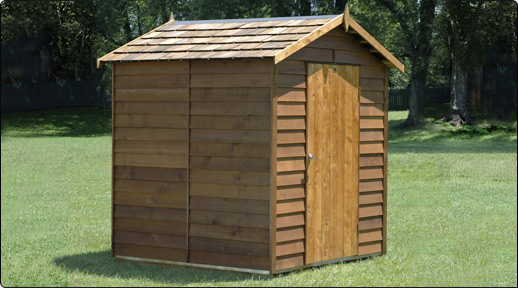 Buy Cedar Ferndale Timber Garden Shed from Gubba Garden Sheds