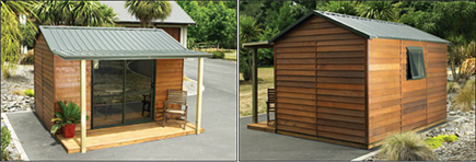 Buy Cedar Urban Timber Garden Shed from Gubba Garden Sheds