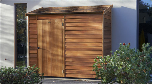 Cedar Woodridge Garden Shed