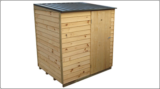 Pinehaven 1800x1500 Tasman Timber Garden Shed available at Gubba Garden Shed