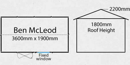 Richardson Garden Shed Plan