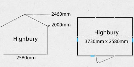 Garden Sheds NZ highbury-shed-plan