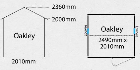 Garden Sheds NZ oakley-shed-plan