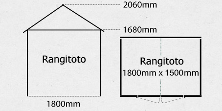 Rangitoto Garden Shed Plan