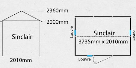 Garden Sheds NZ sinclair-shed-plan