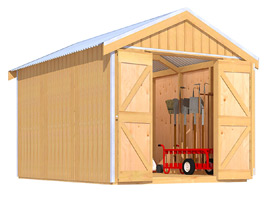 Garden Sheds NZ The-Shed-Smiths-Shed