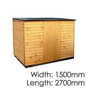 Pinehaven Richmond Timber Garden Shed NZ Made