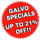 Galvo Shed Specials