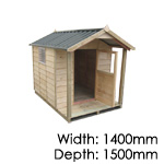Pinehaven Kids Cubby Garden Shed