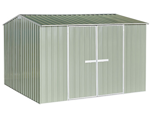 Garden Sheds NZ gvo-3030-Hazy-Grey