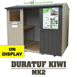 Garden Sheds NZ Duratuf-KIWI-MK2-Display-Shed