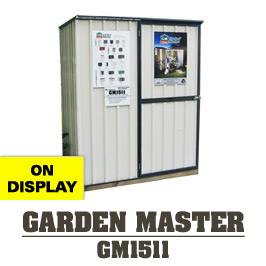 Garden Sheds NZ Garden-Master-1511-Display-Shed