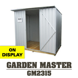 Garden Sheds NZ Garden-Master-2315-Display-Shed