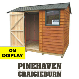 Garden Sheds NZ Pinehaven-Craigieburn-Display-Shed