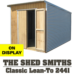 Garden Sheds NZ The-Shed-Smiths-Classic-Lean-To-2441
