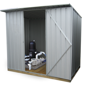 Garden Sheds NZ gm2315-pool-pump-shed
