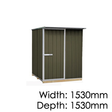 "Galvo GVO1515 ""Karaka"" Coloursteel Garden Shed - Floor Kitset Included (pickup deal)"